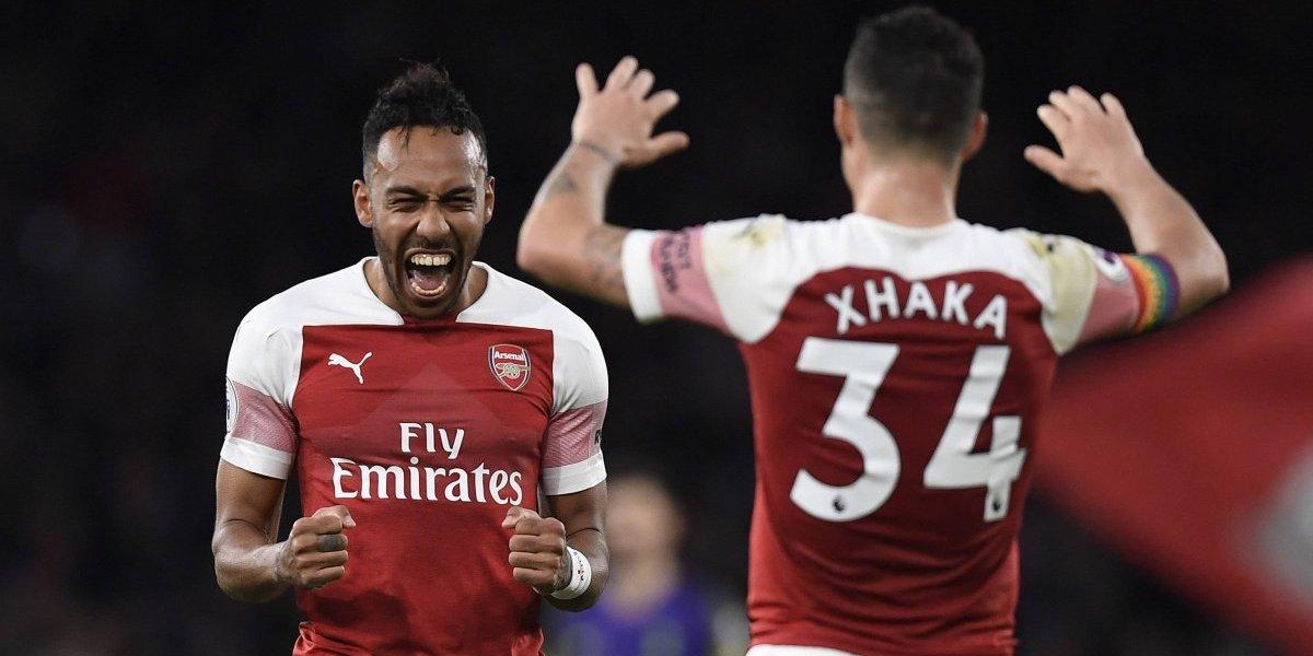 Arsenal aplasta 4 -2  a su clásico rival el Tottenham en Premier League