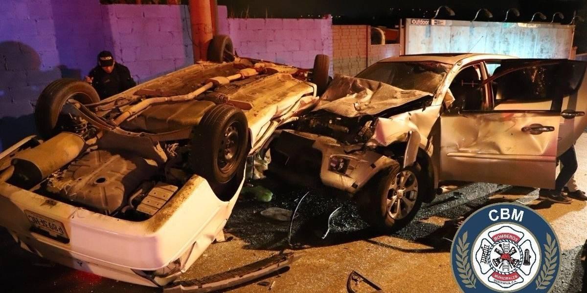 Accidentes de tránsito marcan inicio de diciembre