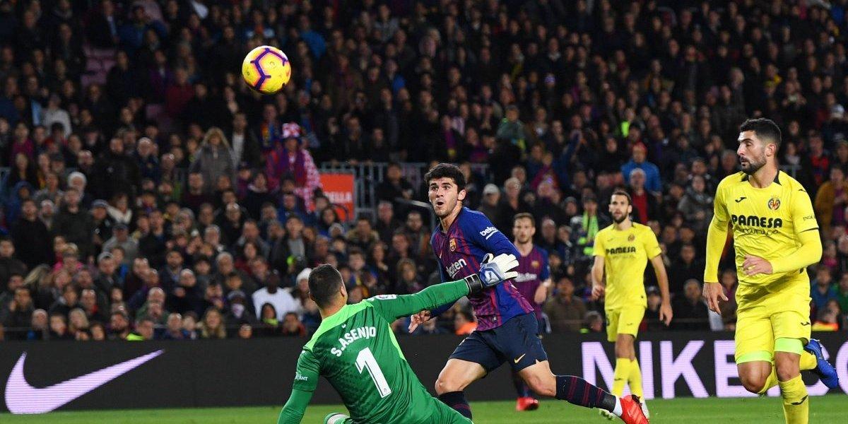 Barcelona se reencuentra con la victoria ante el Villarreal
