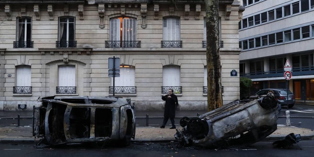 Gobierno francés evalúa medidas de seguridad ante protestas