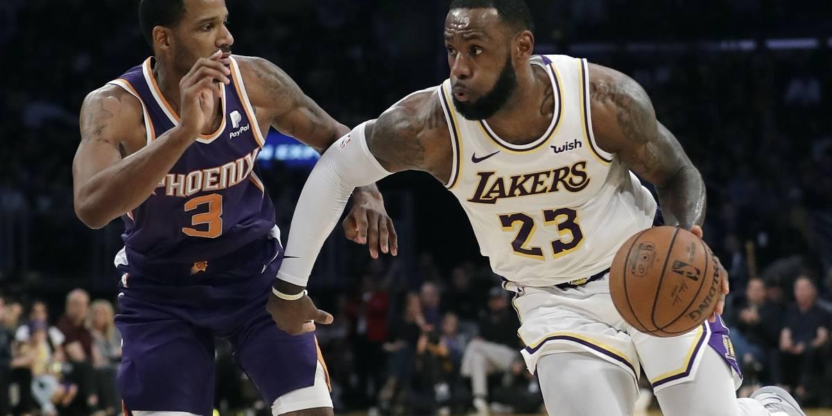 Lakers apabullan a los Suns de Phoenix