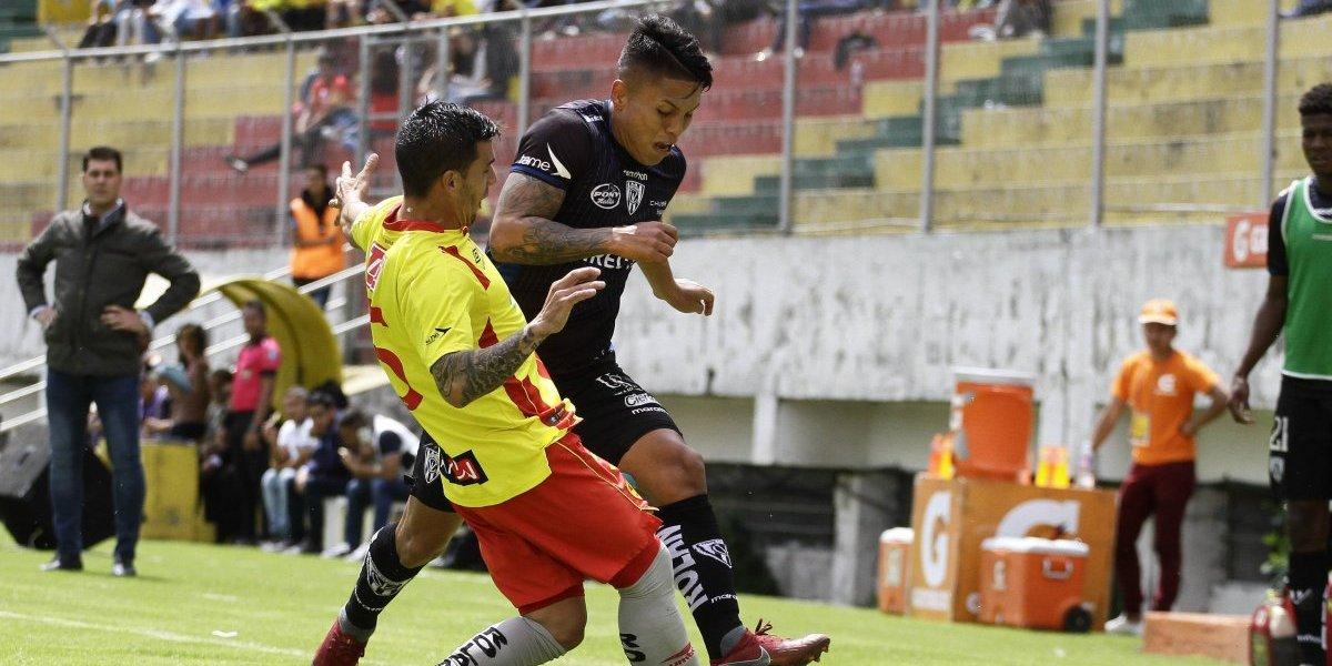 Aucas vs Independiente del Valle: Orientales y Rayados empataron 1-1