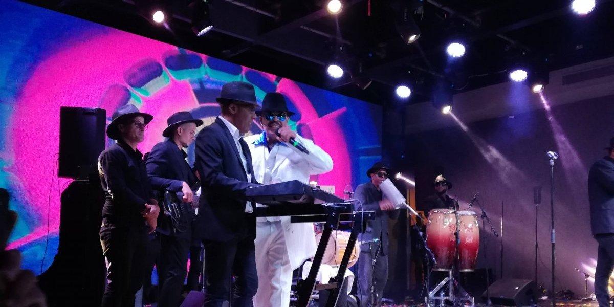 Aramis Camilo retorna al escenario con buen show