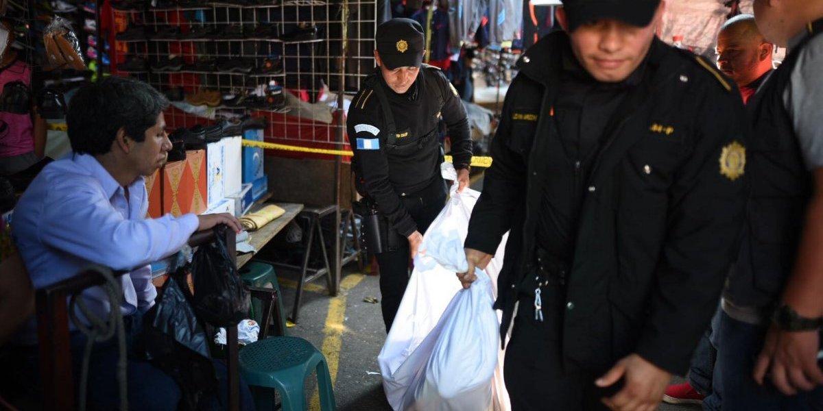 Balacera en el mercado San Martín deja un fallecido y dos heridos