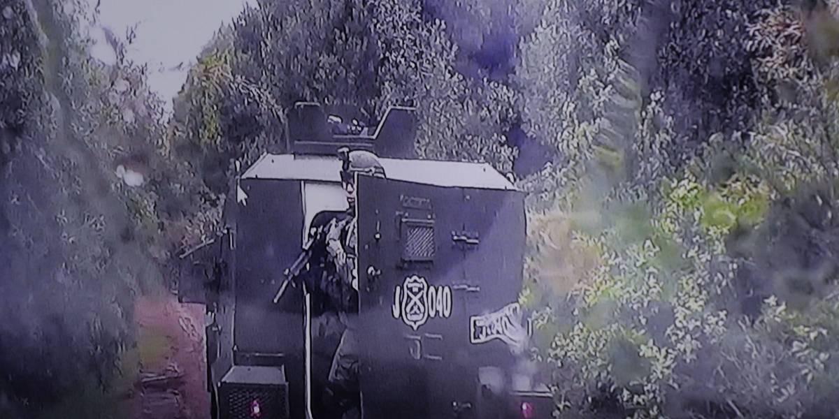"""""""Mi idea era lograr que se detuvieran"""": ex carabinero imputado imputado por caso Catrillanca asegura que disparó en una """"zona segura"""""""