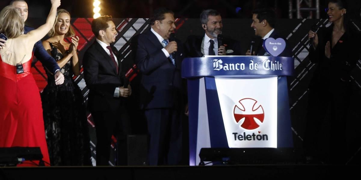 Teletón superó la meta poco antes de las dos de la mañana: recaudaron casi 33 mil millones de pesos