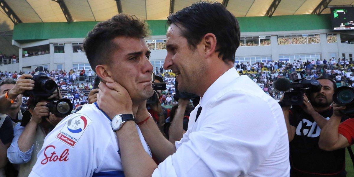 """Mirosevic descifra y alaba a Nacho Saavedra: """"Se pensó en mandarlo a préstamo y terminó siendo, quizás, el mejor del segundo semestre"""""""