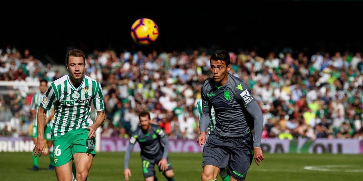 El Betis de Guardado venció a la Real Sociedad y se quedó con el duelo de mexicanos de la Liga