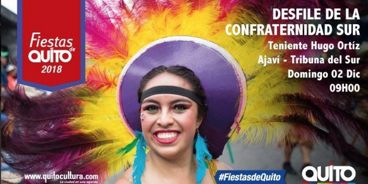 Fiestas de Quito: Así se vive el desfile de la Confraternidad Sur