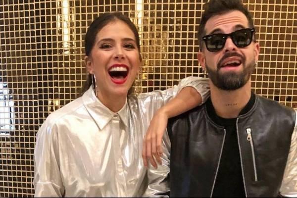 Greeicy Rendón y Mike Bahía