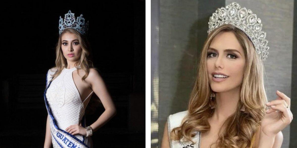 FOTOS. Así fue el encuentro entre Miss Guatemala y Miss España en el Miss Universo