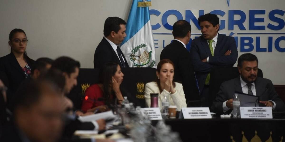 Diputados analizan rendición de cuentas y ejecución de la Usac