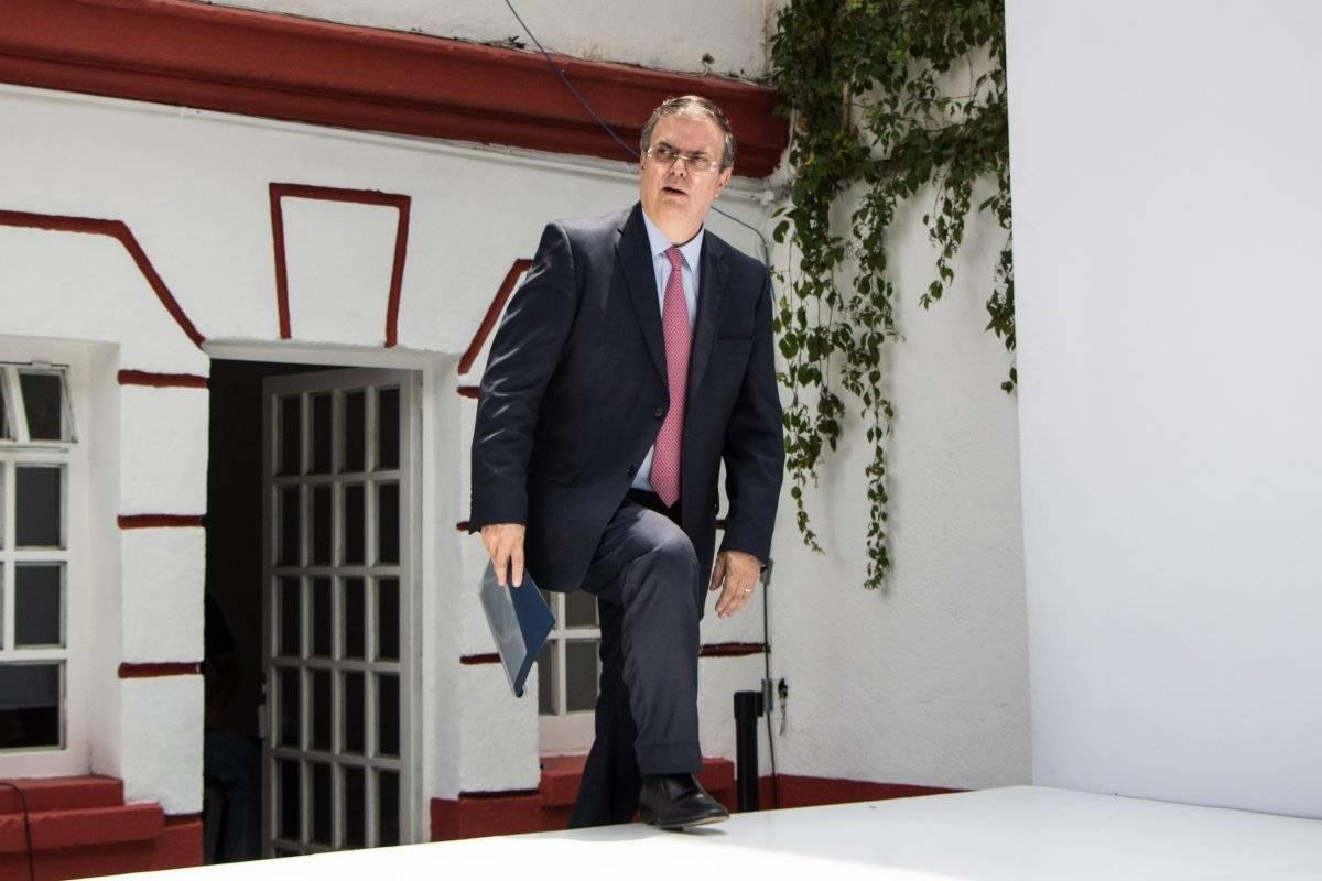 Secretario de Relaciones Exteriores, Marcelo Ebrard. Foto: Cuartoscuro