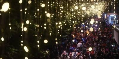 Desfile navideño del Paseo de la Sexta