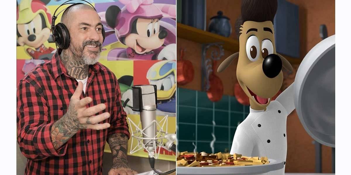 Masterchef Henrique Fogaça dubla personagem em série da Disney