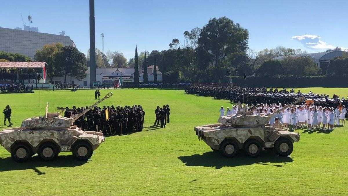 Ceremonia de Salutación de las Fuerzas Armadas al presidente de los Estados Unidos Foto: Jennifer Alcocer