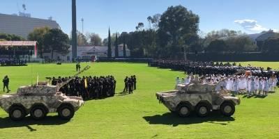 Salutación a las Fuerzas Armadas