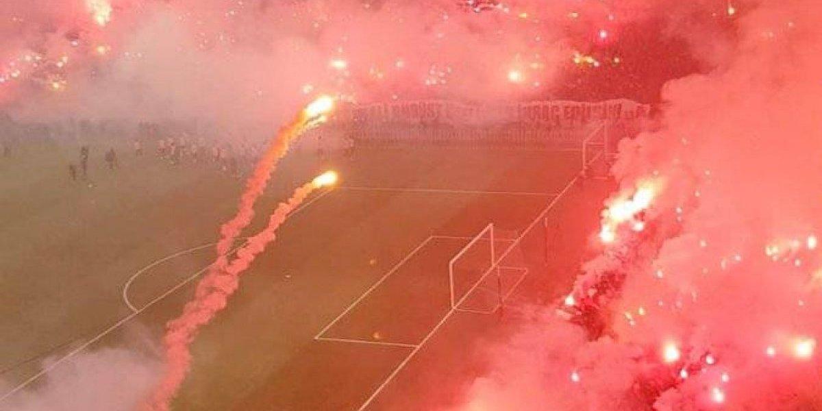 VIDEO: La espectacular muestra de apoyo de la afición del Galatasaray previo al Clásico de Turquía
