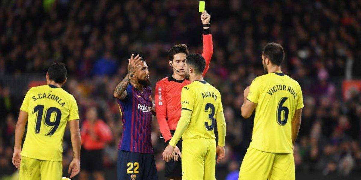 Lo están empezando a querer: El Camp Nou pifió a Valverde por sacar a Arturo Vidal ante Villarreal