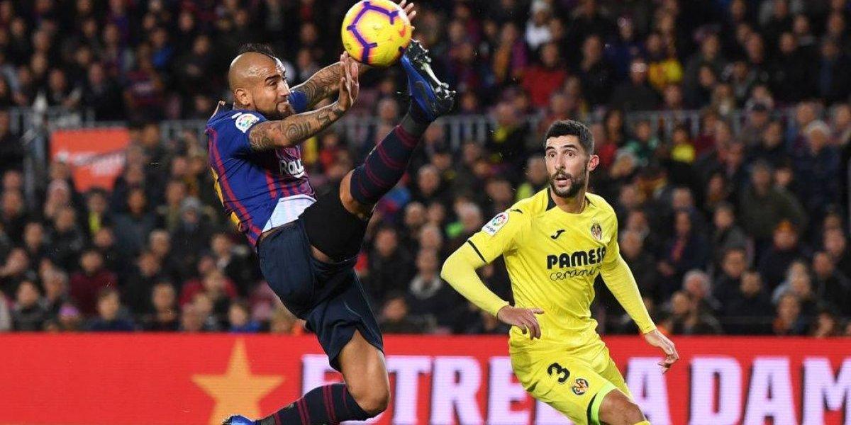 """El """"guerrillero"""" Arturo Vidal sigue sumando elogios en España: """"Se ganó el respeto de todos"""""""