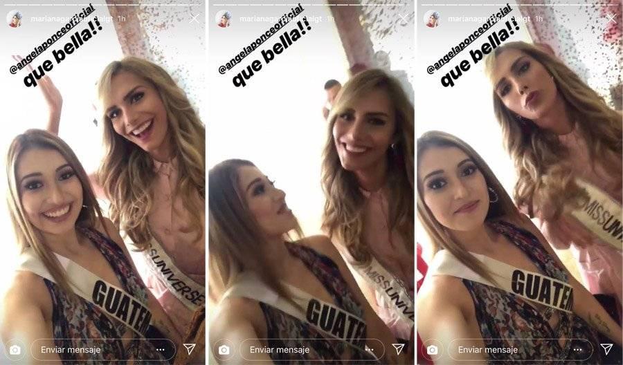 Miss Guatemala y Miss España