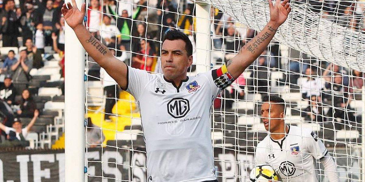 Esteban Paredes otra vez: máximo goleador del fútbol chileno de Primera División por sexta vez