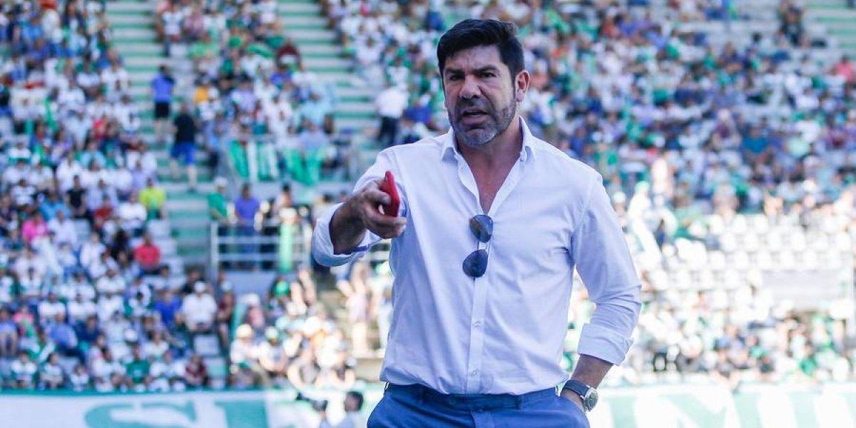 El duro encontrón entre Marcelo Salas y Cristián Álvarez en Temuco