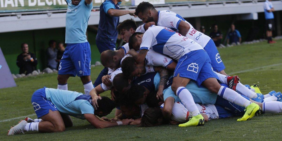 La UC demostró su garra y dio vuelta el partido ante Temuco para bajar su esperada estrella 13
