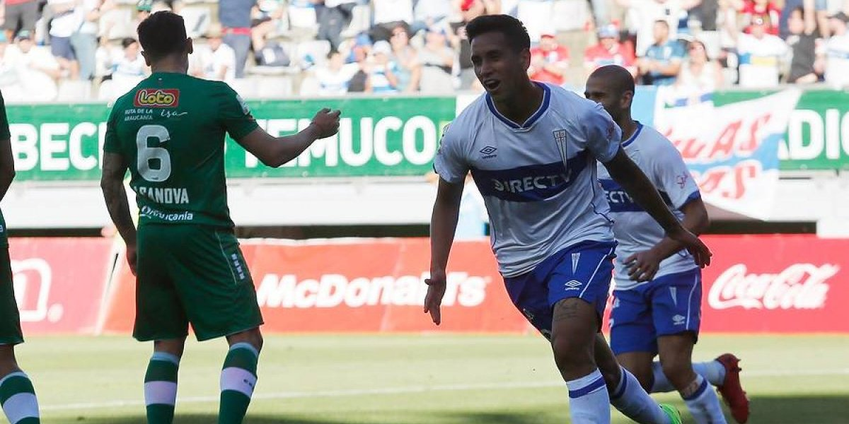 """Andrés Vilches no quiere volver a Colo Colo y espera seguir en la UC: """"Si dependiera de mí, me quedo acá"""""""