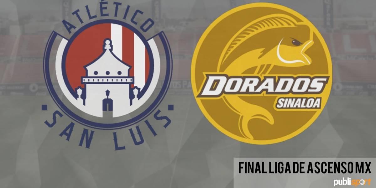 Atlético San Luis se corona en el Ascenso MX por encima de los Dorados