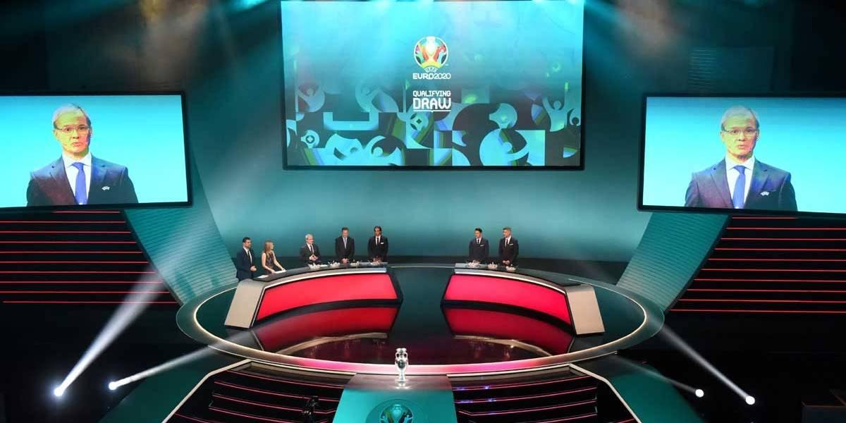 UEFA sorteia grupos para eliminatórias da Euro 2020