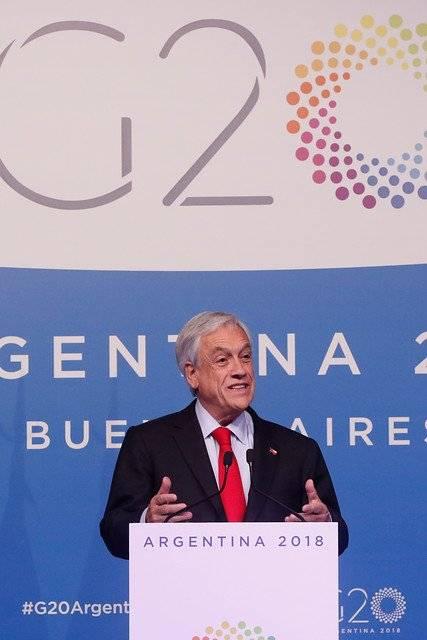 """El mandatario no estuvo en la primera línea del """"line up"""" de este """"G-20Paloozaa"""", pero aún así sacó saldos positivos / Foto: Aton Chile"""
