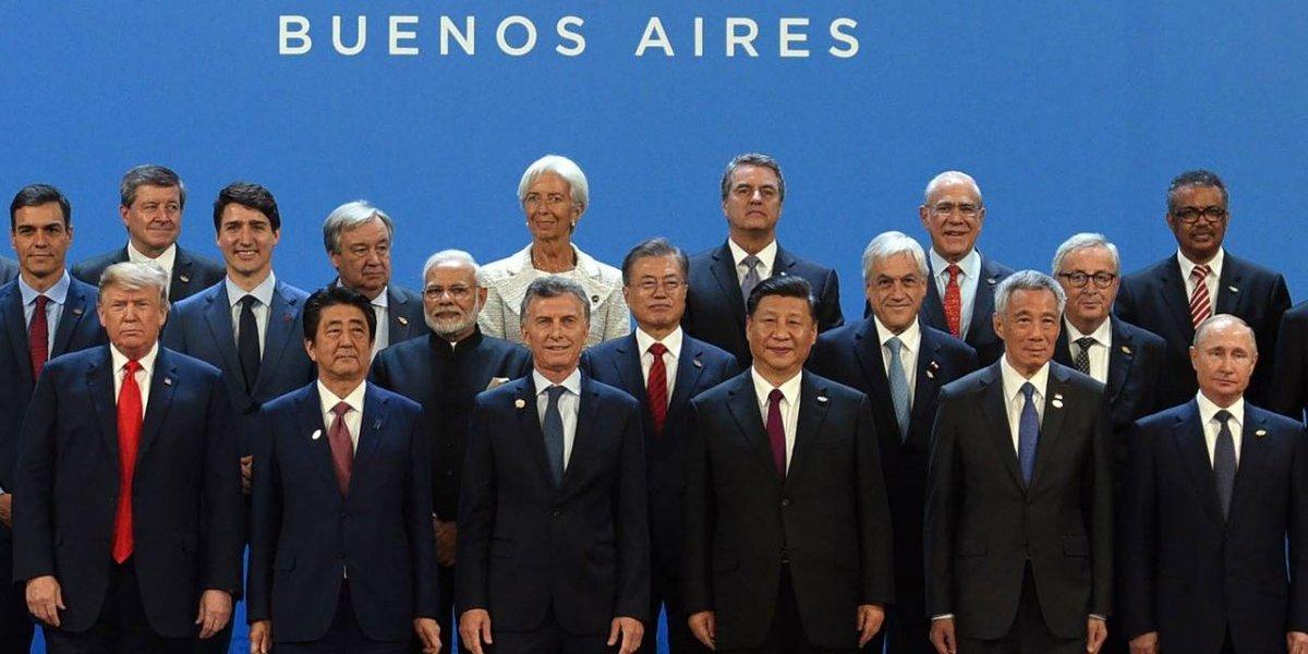 """""""Lollapalooza de los presidentes"""": así anduvo Piñera en la Cumbre G-20 de Argentina"""