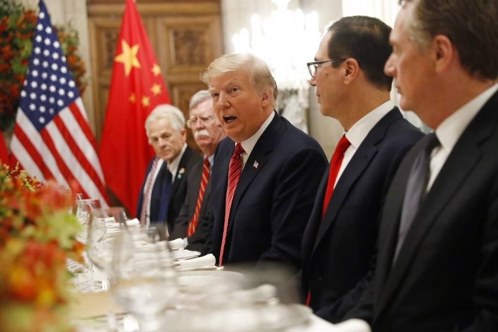 Donald Trump en G20. Foto: AP