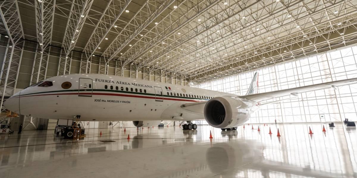 Fotos del interior del avión presidencial TP01 José María Morelos y Pavón