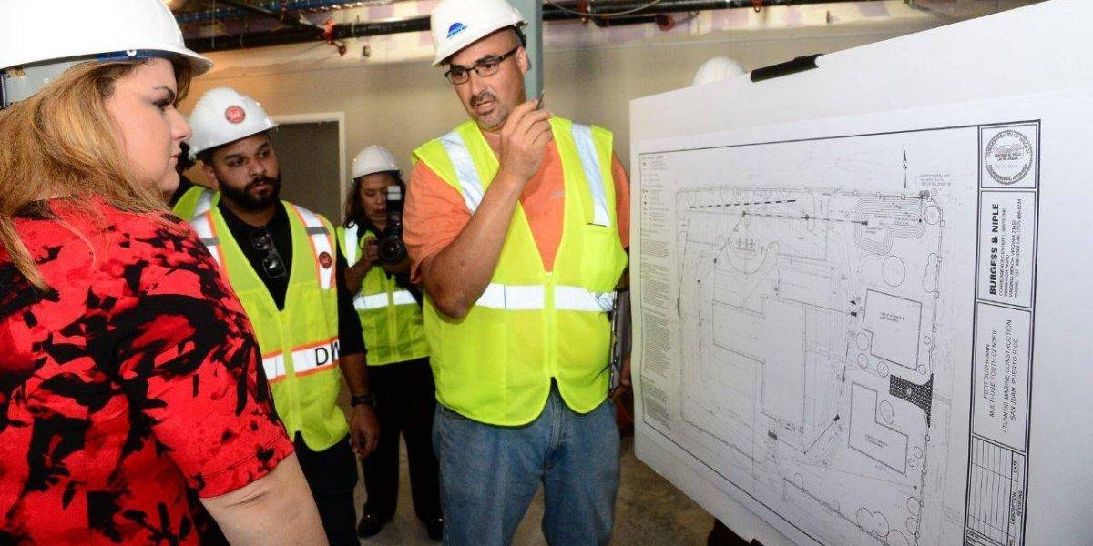 Comisionada inspecciona obras con inversión de $81.6 millones