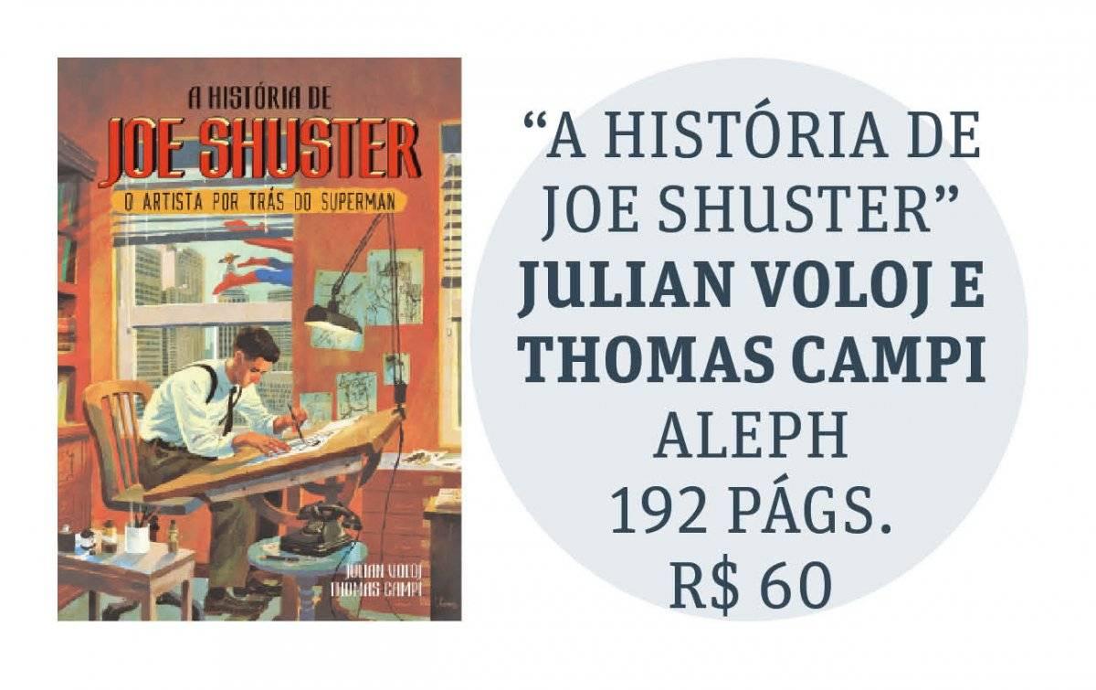 capa A História de Joe Shuster