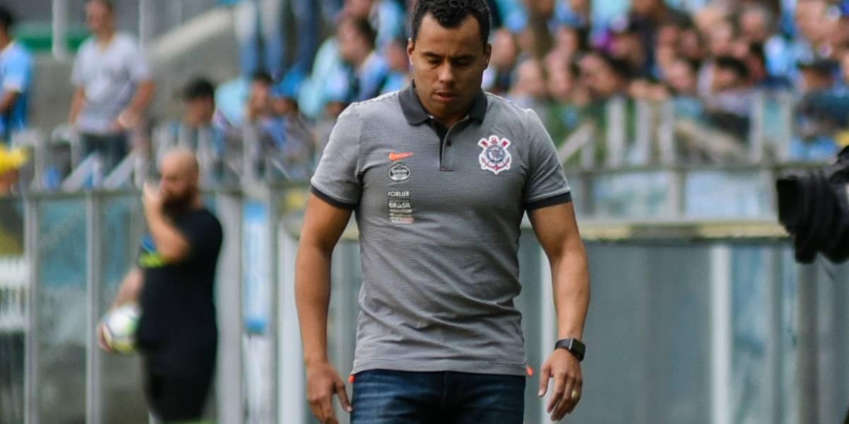Jair Ventura não é mais o técnico do Corinthians; Carille volta