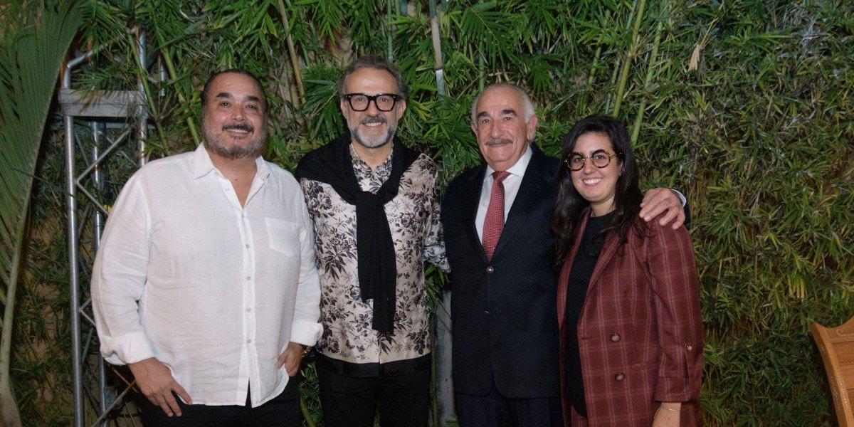 Tropigas agasaja al chef Massimo Bottura con exquisita velada