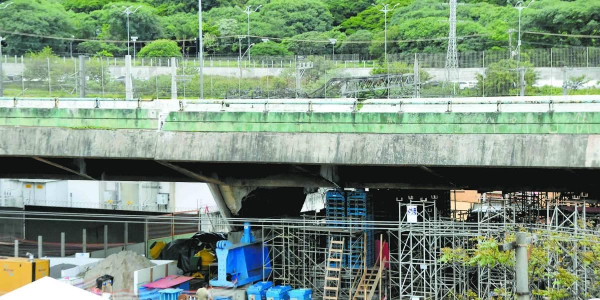 Após elevação, Covas descarta demolir viaduto na marginal Pinheiros