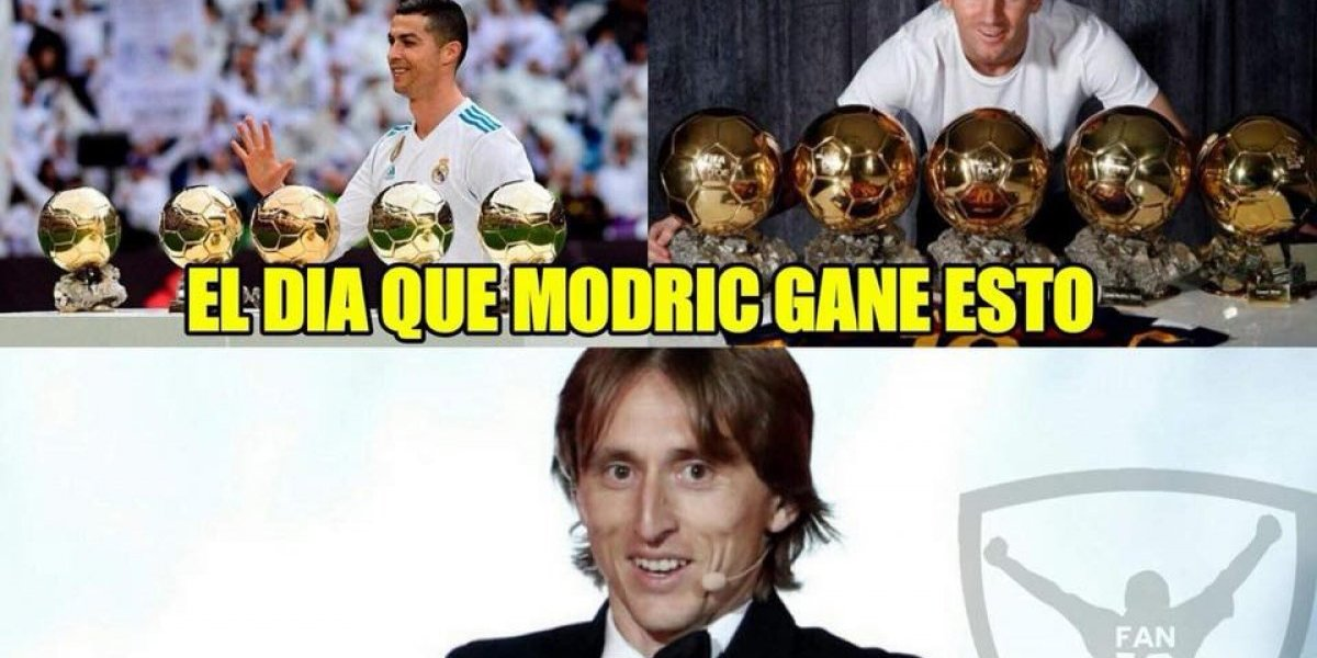 Los mejores memes de la entrega del Balón de Oro a Luka Modric