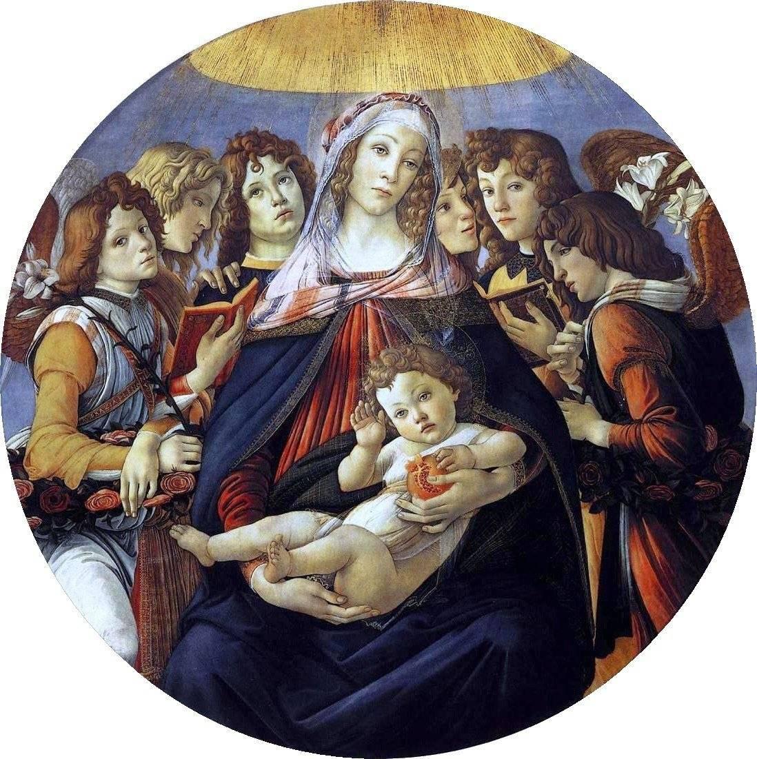 A Madonna da Romã