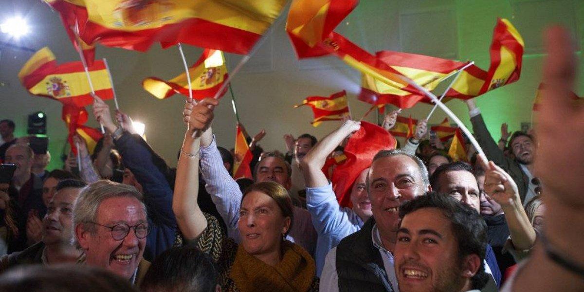 Vox: el partido antiinmigrante y antifeminista que irrumpió con fuerza en el parlamento andaluz