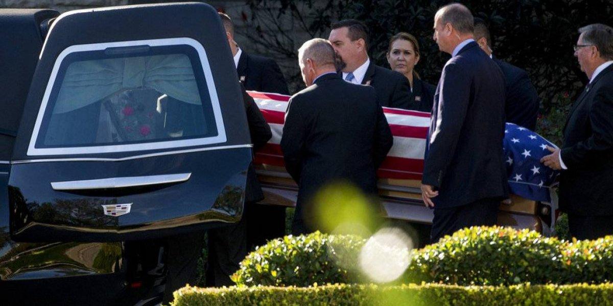 Restos de George H.W. Bush llegan a Texas
