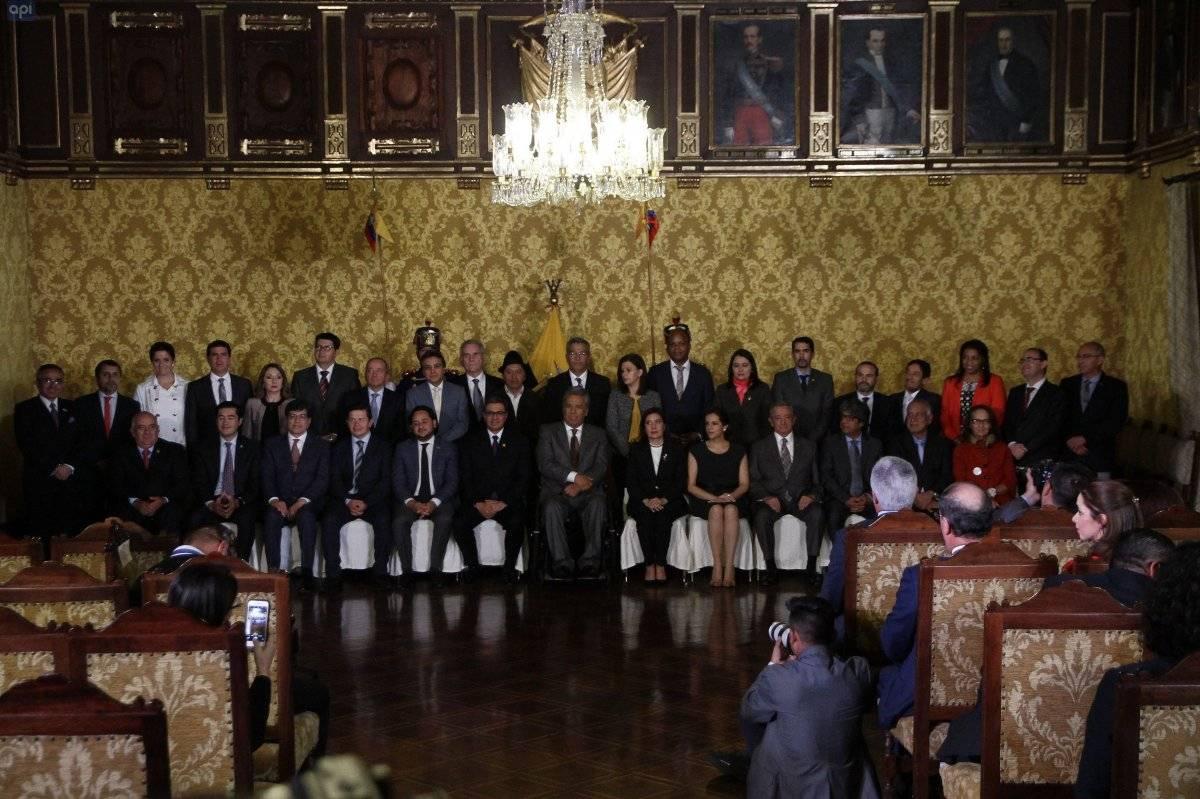 Moreno nombra a nuevos ministros en segundo reajuste de Gobierno en 2018 API