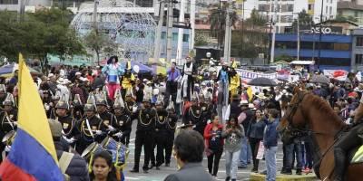 Organizaciones del país marcharon por trabajo y libertad
