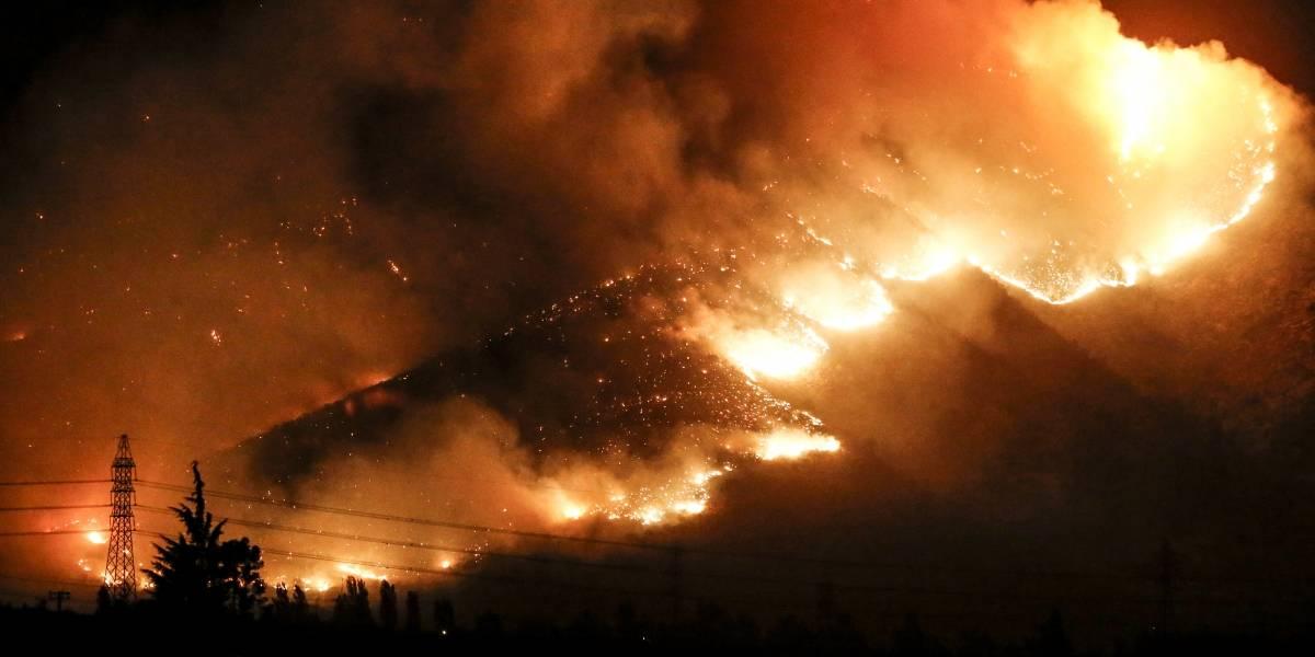 Veranos incandescentes: en 40 años la cantidad de incendios aumentó casi un 20% en Chile