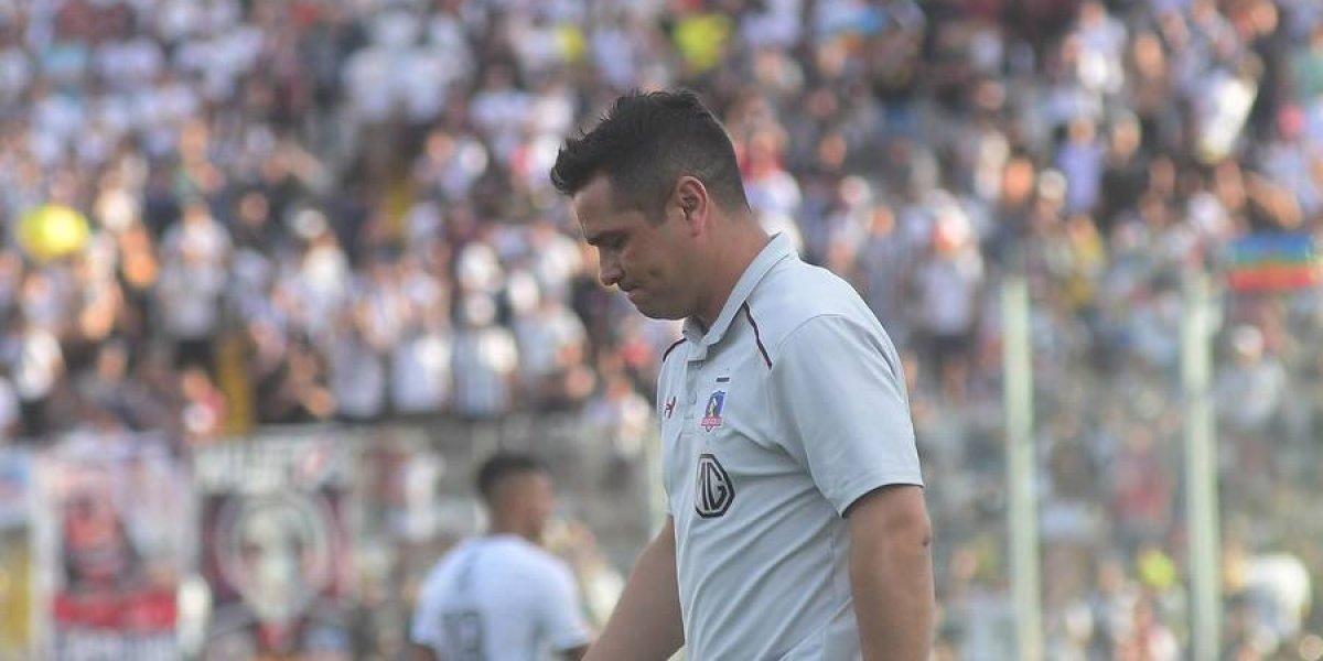 La silenciosa, rápida, triste y solitaria despedida de Héctor Tapia a un pobre Colo Colo