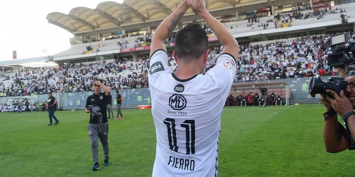 """Gonzalo Fierro dice adiós a Colo Colo: """"No llegué a ningún acuerdo con el club, no quisieron renovarme"""""""