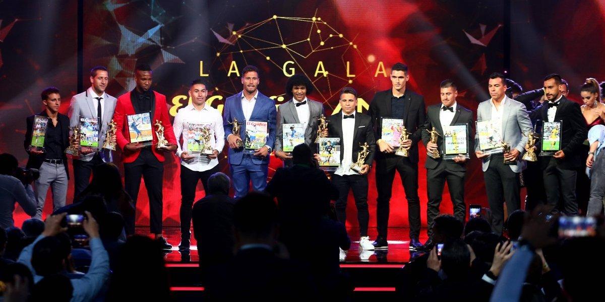 El equipo ideal de la Gala El Gráfico-ANFP 2018